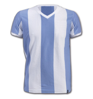 Argentina 1960s Short Sleeve Retro Shirt 100 cotton