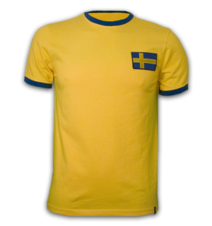 Sweden 1970's Short Sleeve Retro Shirt 100% cotton