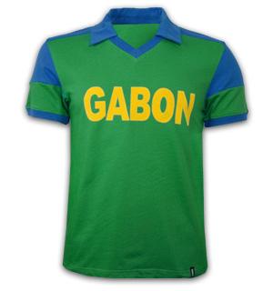 Gabon 1980's Short Sleeve Retro Shirt 100% cotton