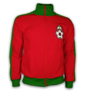Morocco 1980's Retro Jacket polyester / cotton