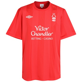 2010-11 Nottingham Forest Adidas Home Shirt
