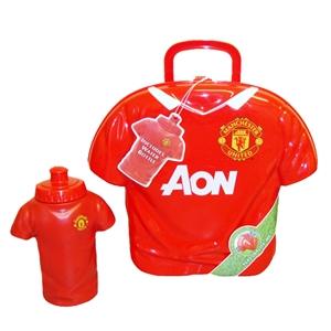 sc 1 st  UKSoccershop.com & Manchester United FC Shirt Shape Lunch Box - Uksoccershop Aboutintivar.Com