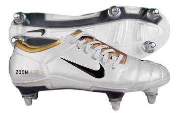 Air Zoom Total 90 III SG Football Boots White / Black / Gold