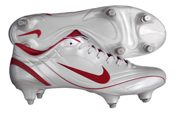 Mercurial Vapour II SG Football Boots White / Red