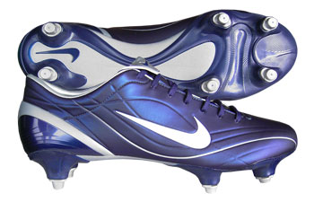 Mercurial Vapour II SG Football Boots Navy / White