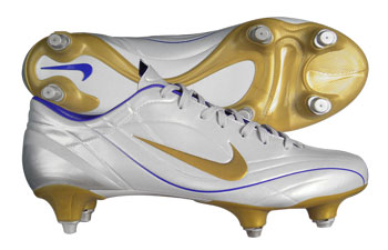 Mercurial Vapour II SG Football Boots White / Gold