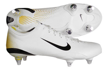 Mercurial Vapour III SG Football Boots White / Met. Black / Gold