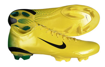 Mercurial Vapour III FG Football Boots Chrome / Yellow / Blk / G