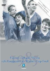 Everton Vs Rapid Vienna and Bayern Munich 1985 European Cup