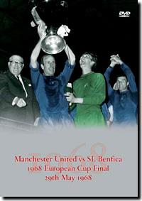 Manchester Utd v Benfica 1968 European Cup Final DVD