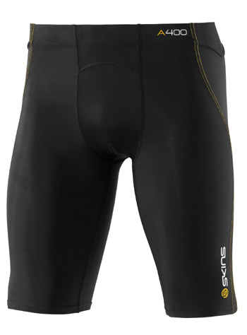 Skins A400 Series Compression Half Tights Black