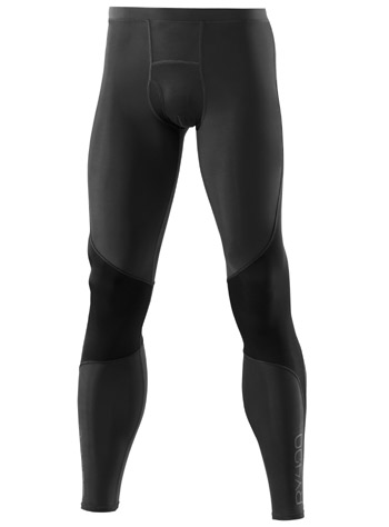 Skins Recovery A400 Mens Compression Long Tights Graphite