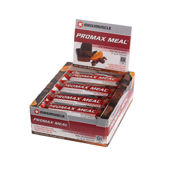Maximuscle Promax Meal Bar X 12