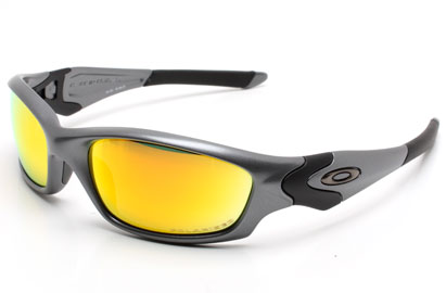 Oakley Polarised Straight Jacket OO9039 24-123 Dark Grey Sunglas