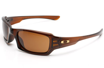 Oakley Fives Squared 9079 03-442 Rootbeer Dark Bronze Sunglasses