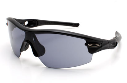 Oakley Radar Pitch Jet Black Polarised Sunglasses