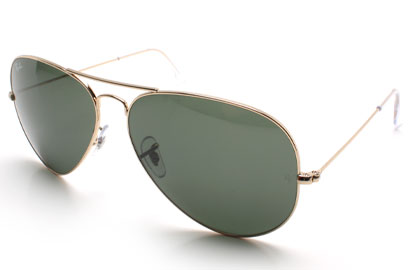Ray-Ban 3025 Aviator Gold Sunglasses