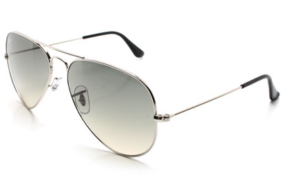 Ray-Ban 3025 Aviator Silver Sunglasses