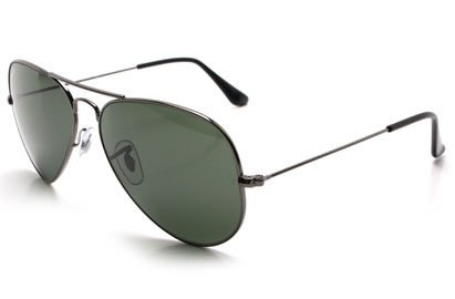 Ray-Ban 3025 Aviator Gunmetal Sunglasses