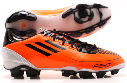 F30 TRX AG Football Boots Warning/Black/White