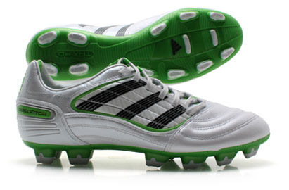 Predator Absolado CL X TRX FG Football Boots White/Maccaw Green/