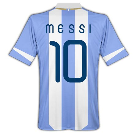 201112 Argentina Home Shirt (Messi 10)