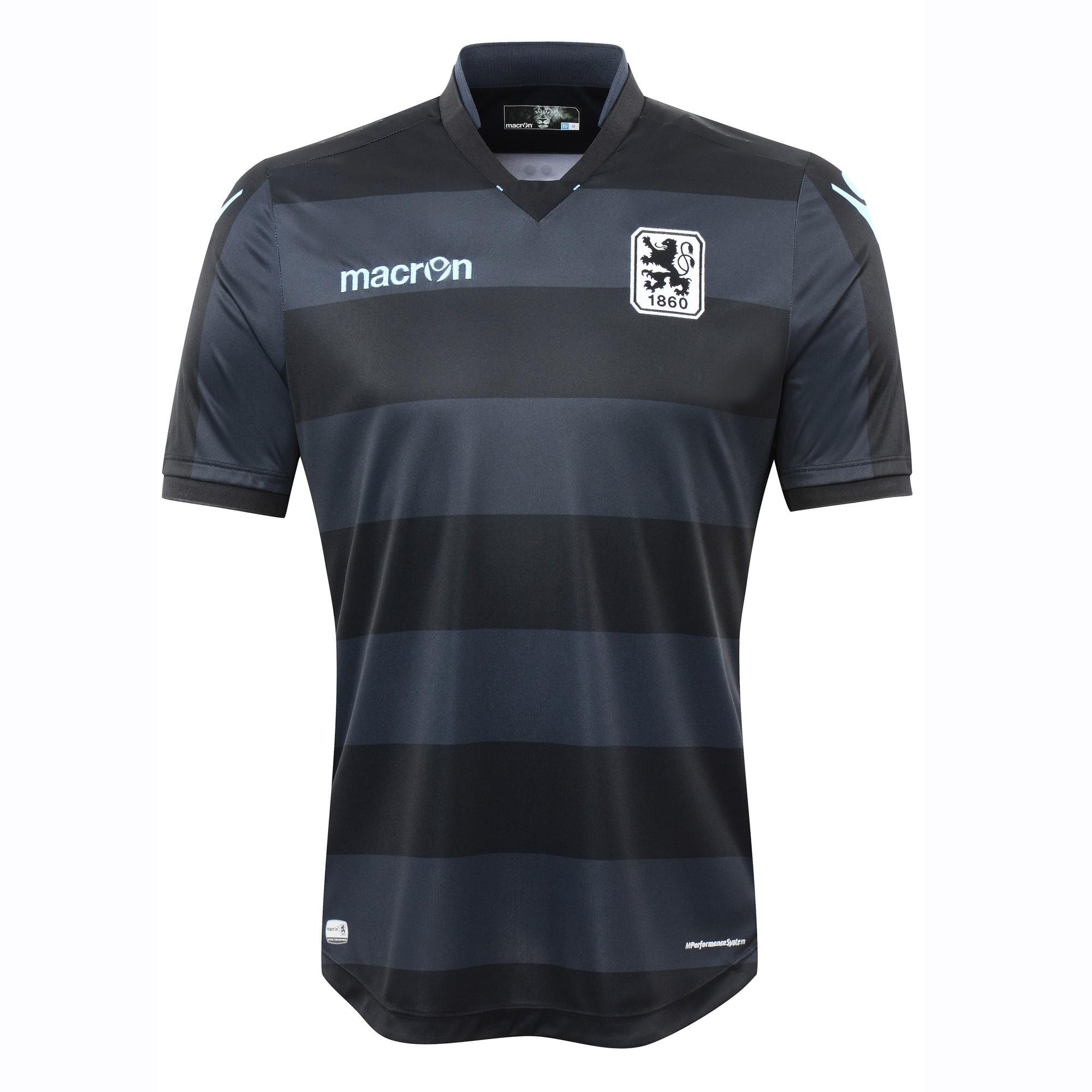 2016-2017 Munich 1860 Authentic Away Match Shirt