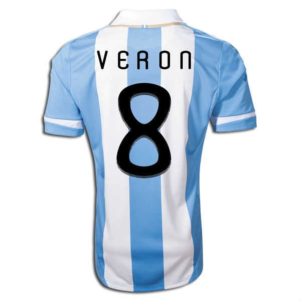2011-12 Argentina Home Shirt (Veron 8)