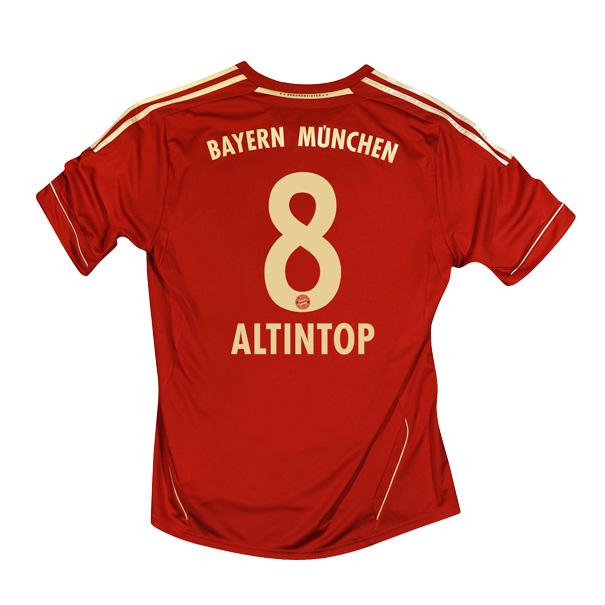 2011-12 Bayern Munich Home Shirt (Altintop 8)