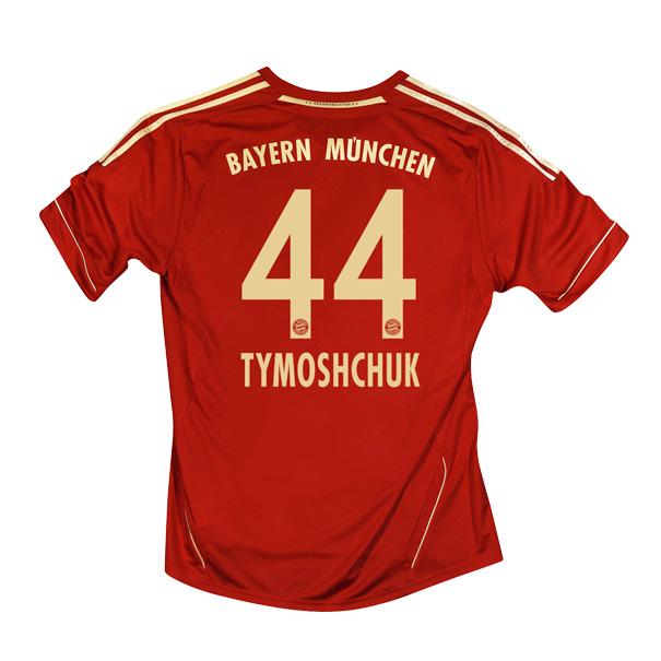2011-12 Bayern Munich Home Shirt (Tymoshchuk 44)