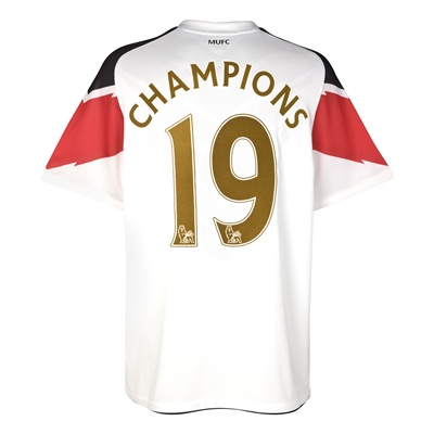 201011 Man Utd Nike Away Shirt (Champions 19)