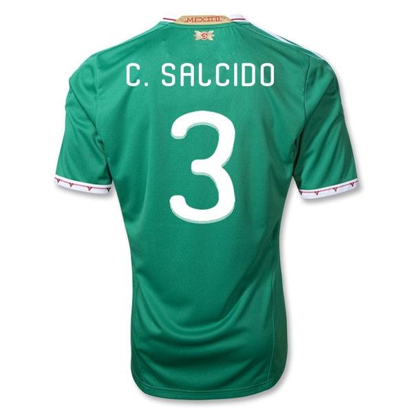 2011-12 Mexico Adidas Home Shirt (C.Salcido 3)