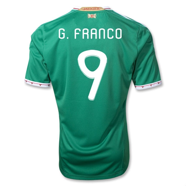 2011-12 Mexico Adidas Home Shirt (G.Franco 9)