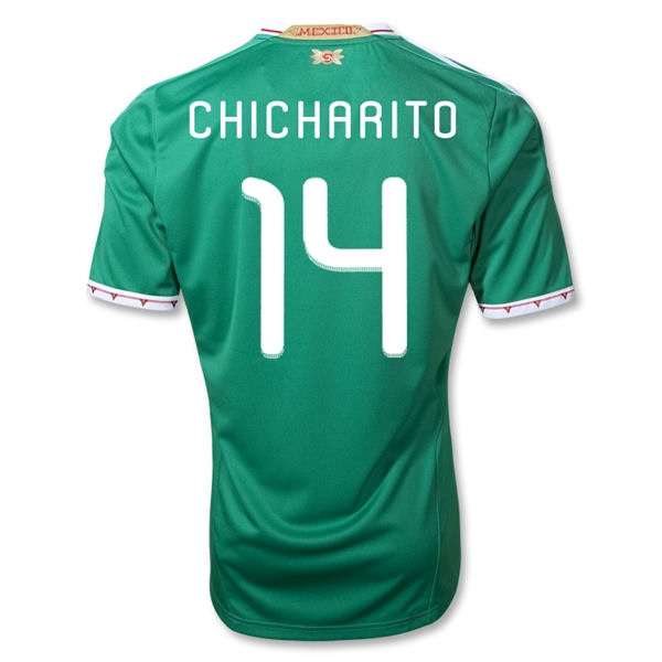 2011-12 Mexico Adidas Home Shirt (Chicharito 14)