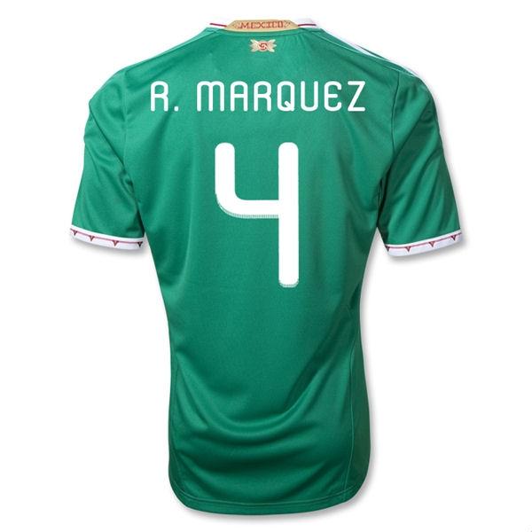 2011-12 Mexico Adidas Home Shirt (R.Marquez 4)