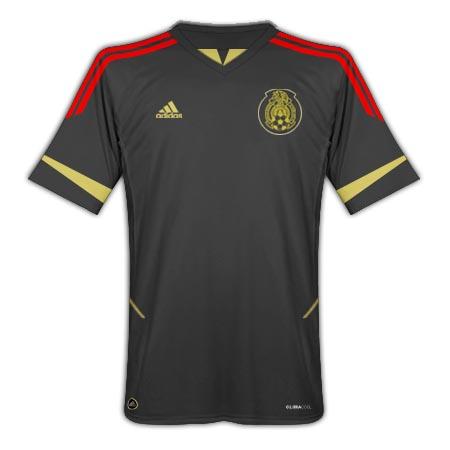 2011-12 Mexico Adidas Gold Cup Away Shirt