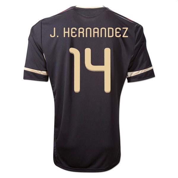 2011-12 Mexico Adidas Away Shirt (J.Hernandez 14)