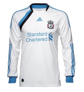 2011-12 Liverpool Adidas 3rd Long Sleeve Shirt (Kids)