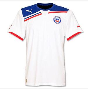 2011-12 Chile Puma Copa America Away Shirt