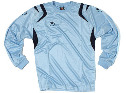 Club Padded Goalkeepers Shirt Sky Blue/Navy