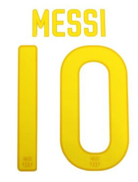 2011-12 Barcelona Home Lionel Messi Shirt Printing