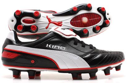 Esito Finale FG Football Boots Black / White / Red