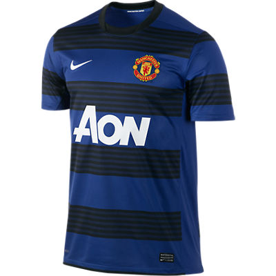2011-12 Man Utd Away Nike Football Shirt