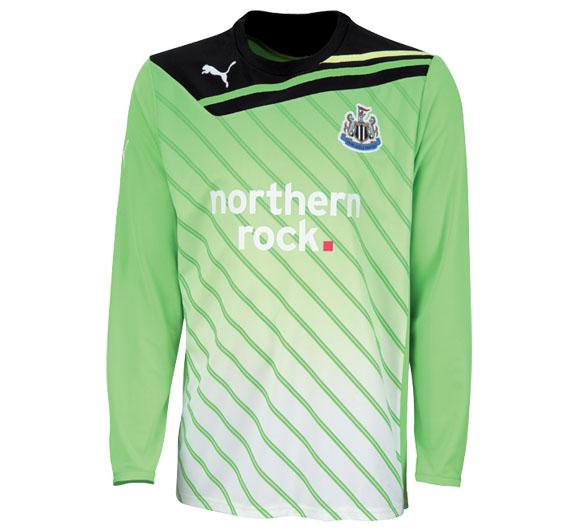 2011-12 Newcastle Away Goalkeeper Shirt (Kids)