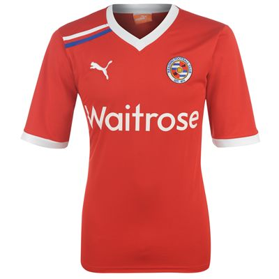 2011-12 Reading Puma Away Football Shirt (Kids)