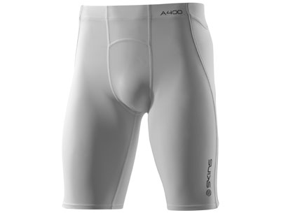 Skins A400 Series Compression Half Tights White