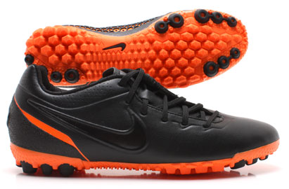 Nike5 Bomba Finale Astro Turf Trainers Black/Orange