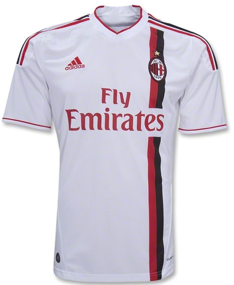 2011-12 AC Milan Adidas Away Football Shirt