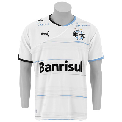 201112 Gremio Puma Away Football Shirt