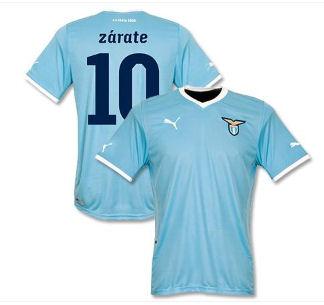 2011-12 Lazio Puma Home Shirt (Zarate 10)